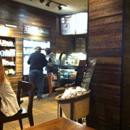 Starbucks : внутри