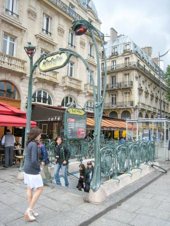 St michel metro station picture of paris ile de france - Metro saint michel paris ...