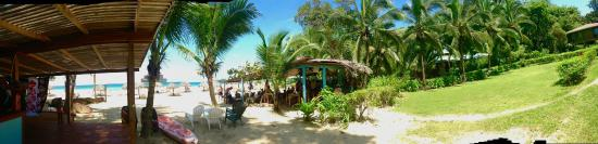 The view from Nachyo Mommas Taco Bar at Red Frog Bungalows Resort