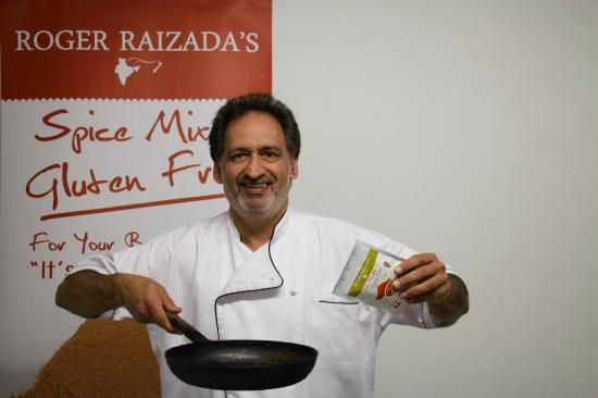 RAIZADA Indian restaurant : ROGER RAIZADA