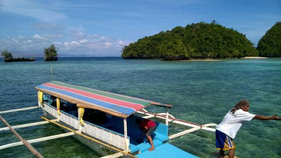 Club Tara Resort: Another view from jetty