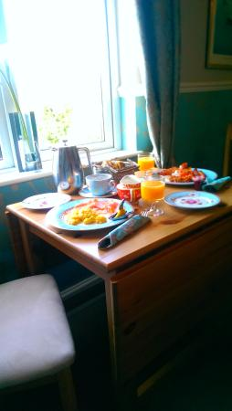 Thorpe House Bed & Breakfast : Breakfast brought to your room in the morning!