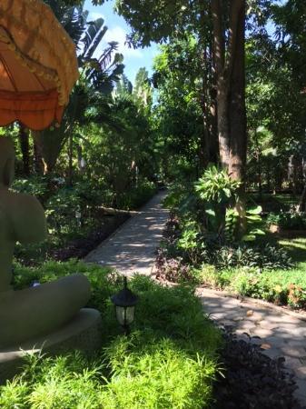 Sonalong Boutique Village & Resort: Garden Path