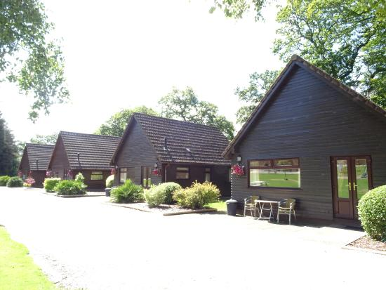 Alpine Park Cottages is close to Sidmouth, Exmouth or Exeter