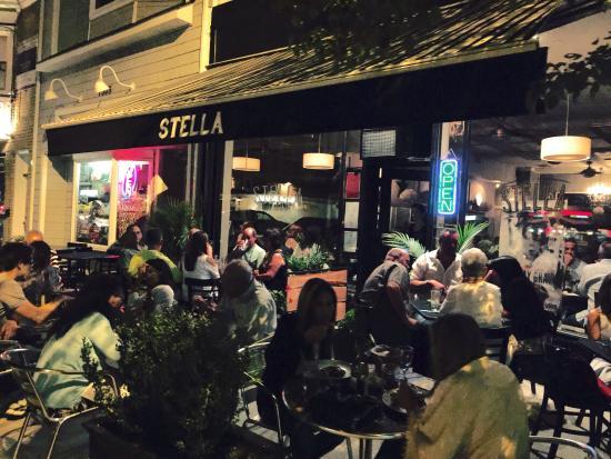 Stella Restaurant At Night