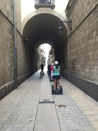Barcelona Segway Tour: Gotic district streets