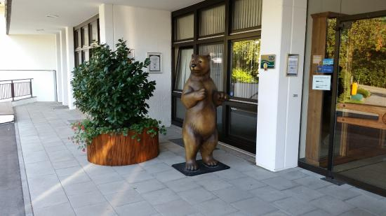 Arcadia Hotel Sonnenhof Grafenau: Entrance