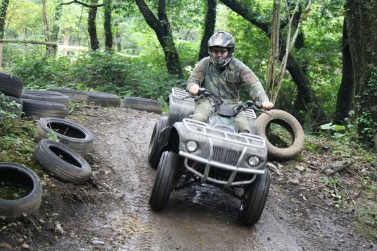 Trail Riding at Quad Challenge