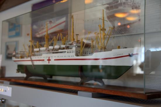 Nakskov, Danmark: Blot et af de mange modeller som museet fremviser