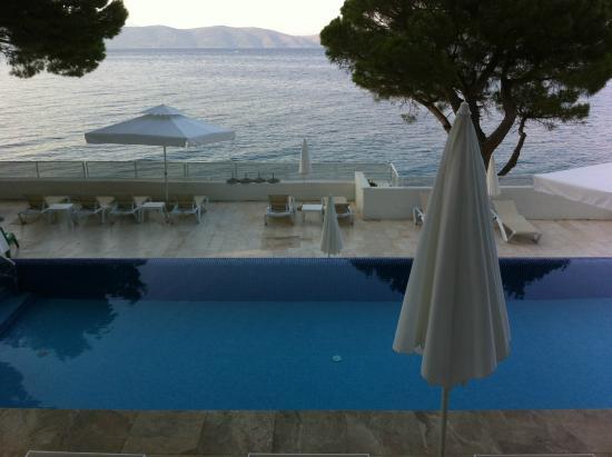 Igrane, Kroatien: une des deux piscine