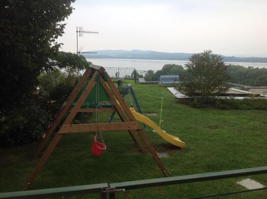 Il Nido al Lago: Area esterna