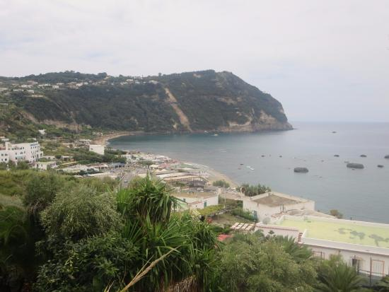 View on Citara Bay from Hotel Capizzo