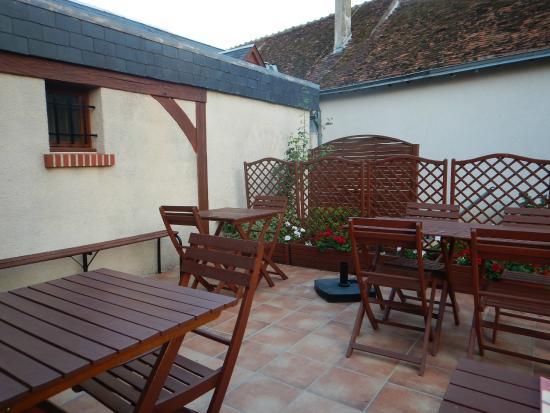 Oisly, Francia: La terrasse