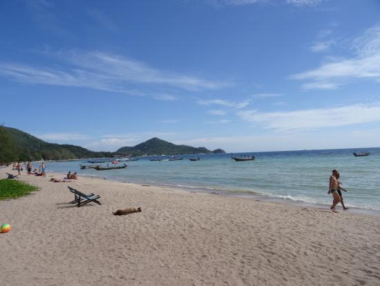 Palm Leaf Resort: The beach at Palm Leaf