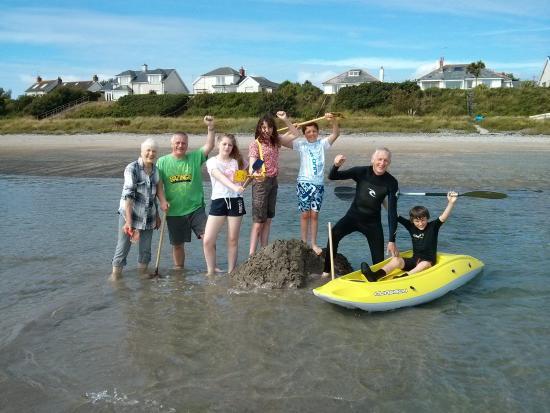 Ballywalter, UK: Three generations making memories :-)