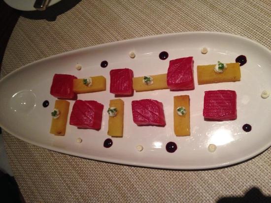 Saumon photo de la cuisine le royal monceau paris - Royal monceau la cuisine ...