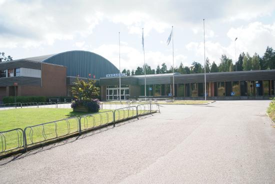 Hultsfred, Sverige: Entrén till Hagadal
