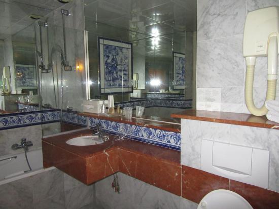 Hotel de France: salle de bain