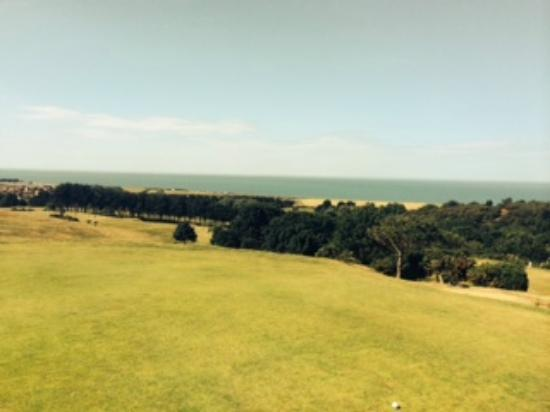 The Links Country Park Hotel & Golf Club: Sea Views From Golf Course
