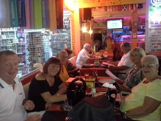 Smiley's Restaurant : our guests!