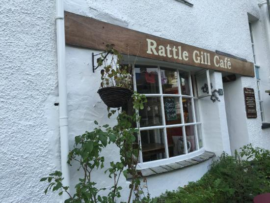 Rattle Gill Cafe: The café