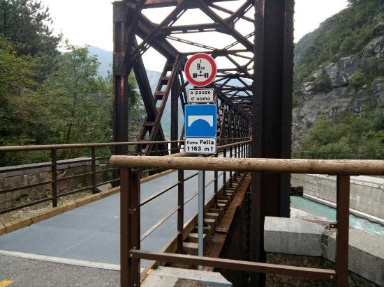 Tarvisio, อิตาลี: Alcune immagini della ciclabile Alpe Adria
