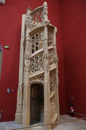 rouen seine maritime eglise saint maclou escalier des orgues ancien escalier du jub. Black Bedroom Furniture Sets. Home Design Ideas