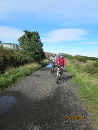 Trailways Cycle Hire: Whitby / Scarborough rail trail cinder track bike route