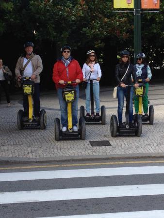 Porto, Portugal: Segway tour