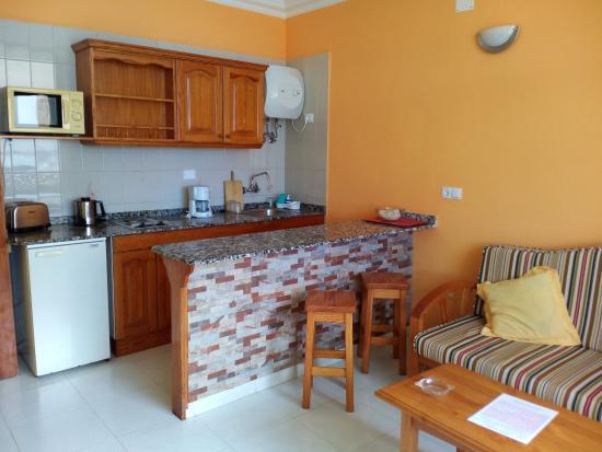 Apartamentos Las Dunas : Kitchenette