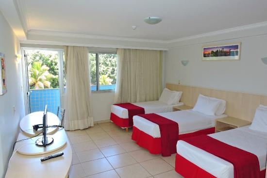 Bay Park Resort Hotel: Apartamento triplo