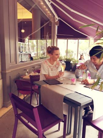 Paris Marriott Opera Ambassador Hotel: Terrasse 16 Haussmann