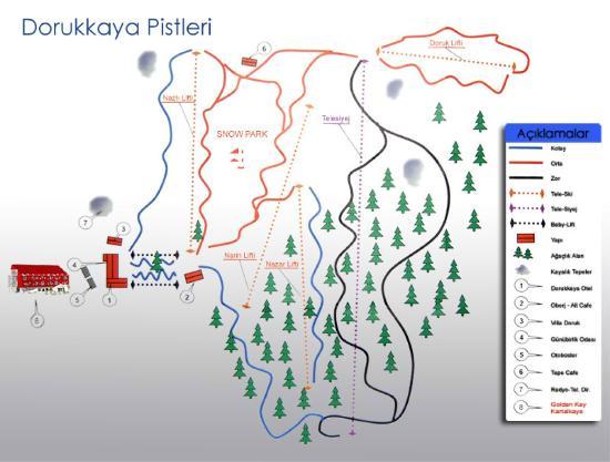 Dorukkaya Pist Harita 3 Kartalkaya Bolu Koroglu Kis Turizm