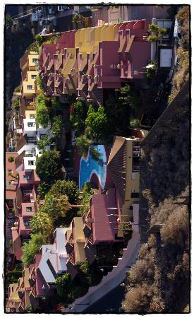 Oasis San Antonio: Blick von oben auf die Anlage