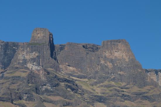 uKhahlamba-Drakensberg Park, Güney Afrika: Injisuthi Triplets