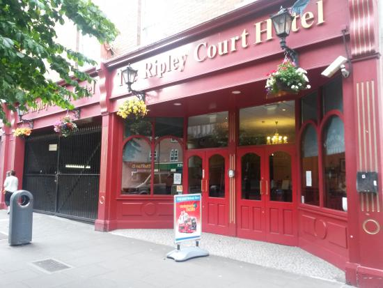 Facade De L Hotel Picture Of Ripley Court Hotel Dublin Tripadvisor