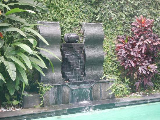 Griya Yunika Homestay: Wasserfall Am Pool