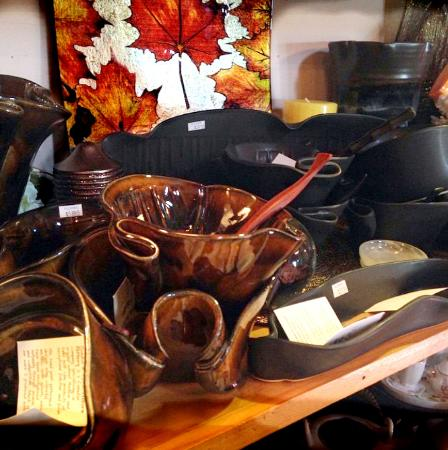 Flora's Gift Shop on the Cabot Trail - you can't miss it ...
