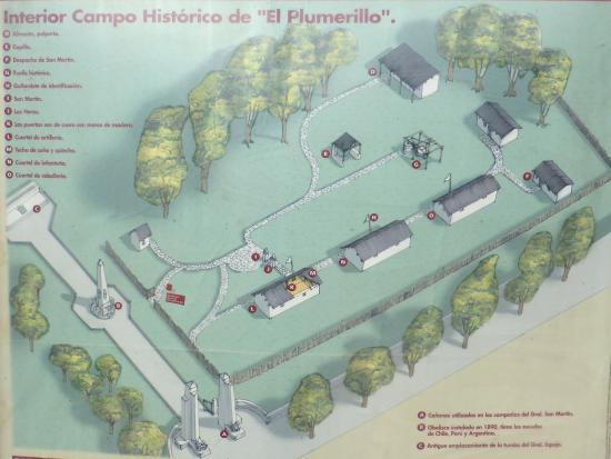 Las Heras, Argentina: ACTUAL INTERIOR del CAMPO HISTORICO