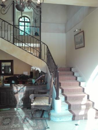 Coly, França: l'escalier menant aux chambres
