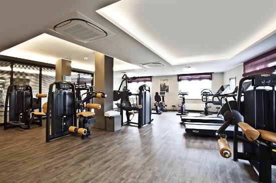 BEST WESTERN PLUS Hotel Böttcherhof: Fitnessbereich