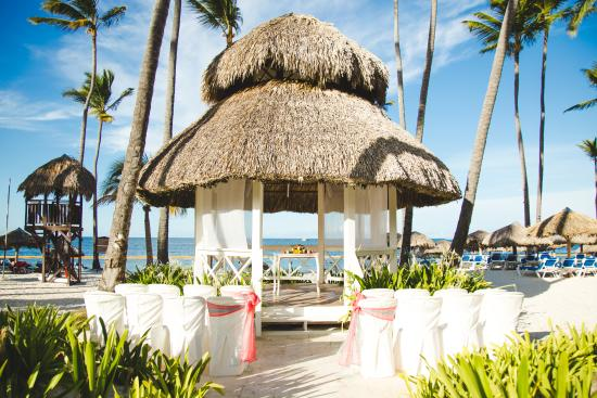 Dreams Palm Beach Punta Cana Gazebo Where We Had Our Ceremony