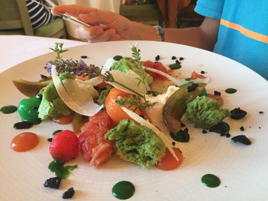 Audrieu, France : Salade de choix...