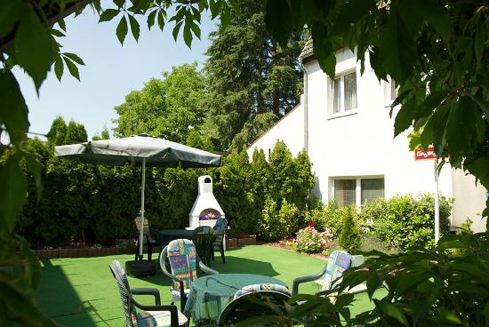 Apartmentpension Am Krongut: Terrasse