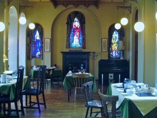 The convent B&B dining room