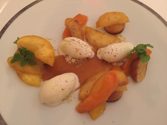 Audrieu, France : Dessert