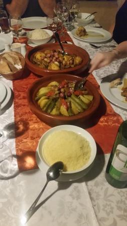 Riad l'Orangeraie: Nadia once again created an unforgettable meal