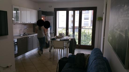 Cucina Con Divano.Cucina Con Divano Letto Matrimoniale Picture Of Residence