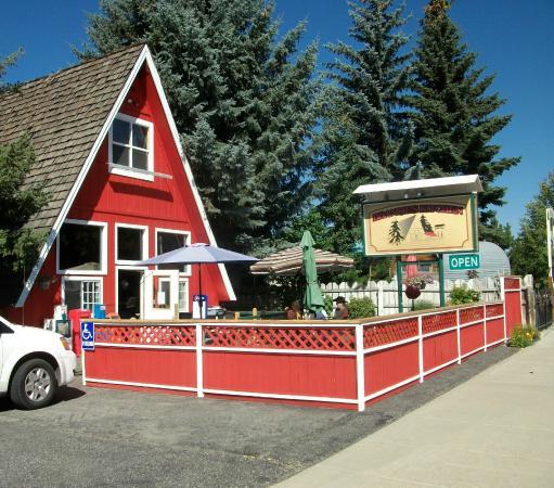Bellevue, ID: Brandie's Kitchen, Were the Locals Eat!