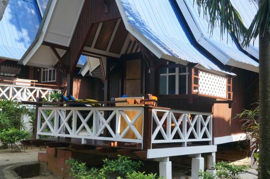 Coral View Island Resort: chalets